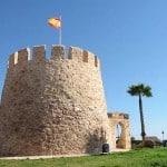 Башня, памятник первому иностранному резиденту и его кораблю