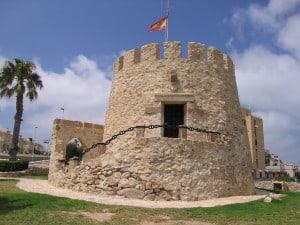 Сторожевая башня города торревьехи