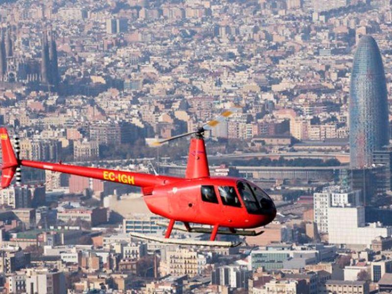 Аренда вертолета в Испании