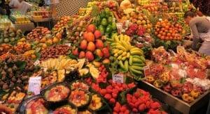 Сезоны фруктов в Испании по месяцам