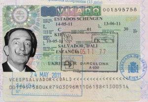 шенгенская виза испания