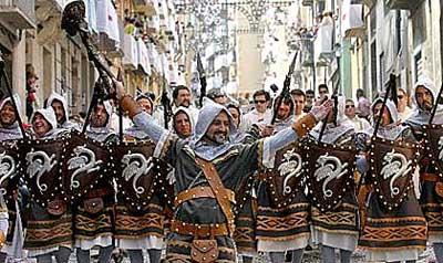 Фестиваль «Мавры и Христиане»