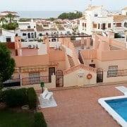 Апартаменты с видом на море для 4-5 человек в 600 м от пляжа Ла Мата, Торревьеха.