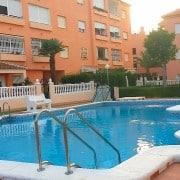 Апартаменты для 2-4 человек в 500 м от пляжа Ла Мата, Торревьеха.