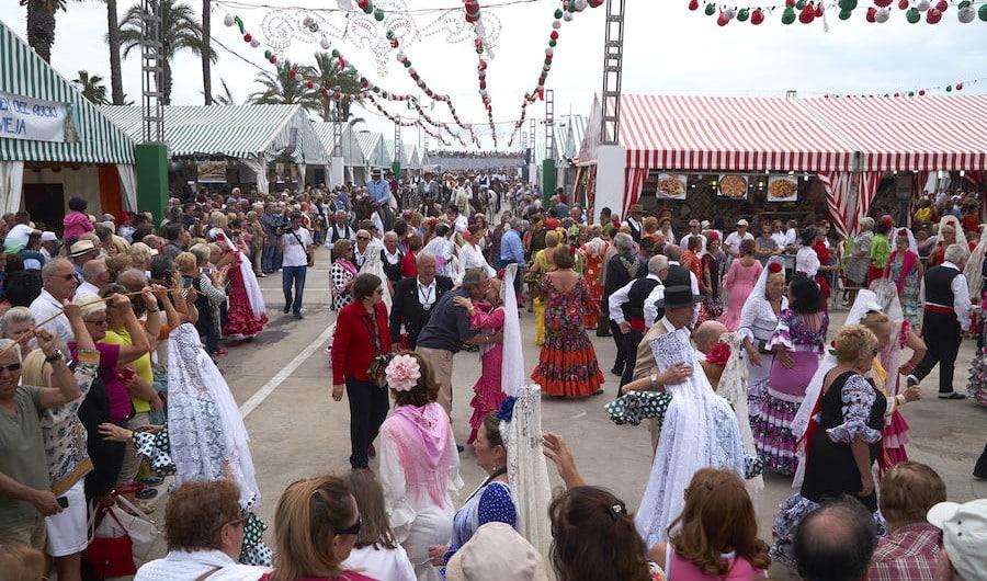 Майская ярмарка в Торревьехе 2017