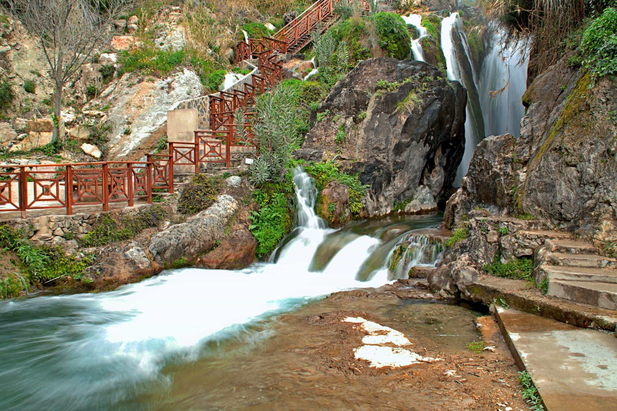 Альгарские водопады