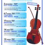 Расписание концертов симфонического оркестра г. Торревьехи на 2017 – 2018 год