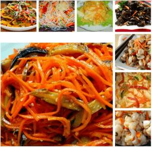 Корейские салаты в Торревьехе