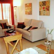 Апартаменты Arenales-5 4-6 Аликанте-гостиная-1