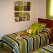 Апартаменты Arenales-5 4-6 Аликанте-спальня-1
