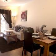 Апартаменты Azul Beach в Торревьеха (Аликанте)-гостиная