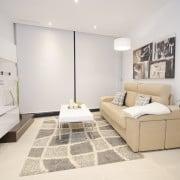 Апартаменты Infinity View в Аликанте-гостиная1
