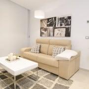 Апартаменты Infinity View в Аликанте-гостиная3