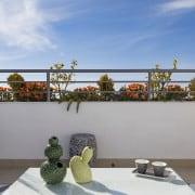 Апартаменты Компоамор в Ориуэла Коста (Аликанте)-терраса