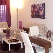 Апартаменты NovoGolf, Вилламартин (Аликанте)-гостиная-столовая
