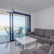 Апартаменты Sea Senses в Торревьеха-гостиная1