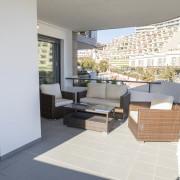 Апартаменты в Ocean View 4-4 (Аликанте)-терраса