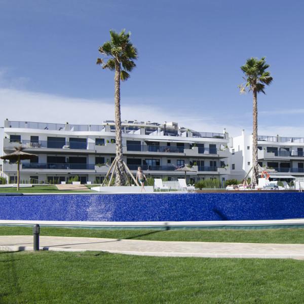 Апартаменты в Ocean View 4-5 1-я линия Аликанте