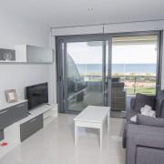 Апартаменты в Ocean View 4-5 1-я линия Аликанте-гостиная-1