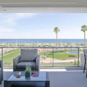 Апартаменты в Ocean View 4-5 1-я линия Аликанте-терраса