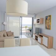 Апартаменты в Ocean View 4-5 Аликанте-гостиная-1