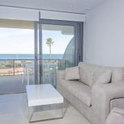 Апартаменты в Ocean View 6-7 1-я линия Аликанте-гостиная-1