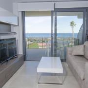 Апартаменты в Ocean View 6-7 1-я линия Аликанте-гостиная