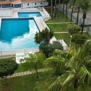 Апартаменты с 2-мя спальнями в жилом комплексе на 1-й линии El Palmeral-бассейн1
