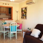 Апартаменты с 2-мя спальнями в жилом комплексе на 1-й линии El Palmeral-гостиная-1