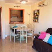 Апартаменты с 2-мя спальнями в жилом комплексе на 1-й линии El Palmeral-гостиная