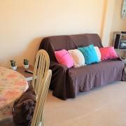 Апартаменты с 2-мя спальнями в жилом комплексе на 1-й линии El Palmeral-гостиная-2