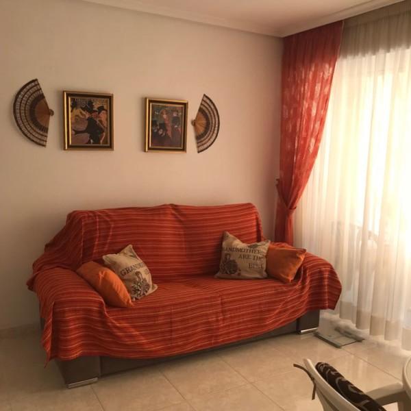 Квартира с 1-ой спальней ул.Галеон, 4, Торревьеха-гостиная