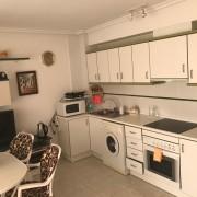 Квартира с 1-ой спальней ул.Галеон, 4, Торревьеха-кухня