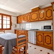 Квартира с 3-мя спальнями в Кабо Сервера, Торревьеха-кухня