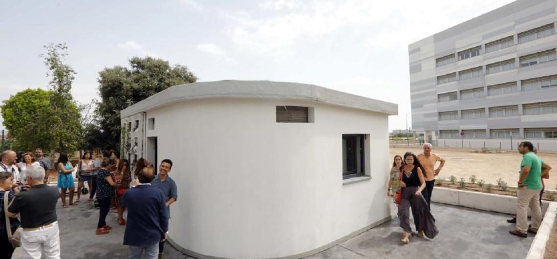 Первый 3D дом построенный в Валенсии