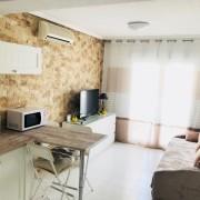 Апартаменты с большой террасой и 1-й спальней (улица Ла Лома), Торревьеха-гостиная