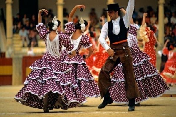 Традиционные испанские танцы
