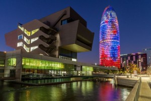 Башня Агбар – современный символ Барселоны.