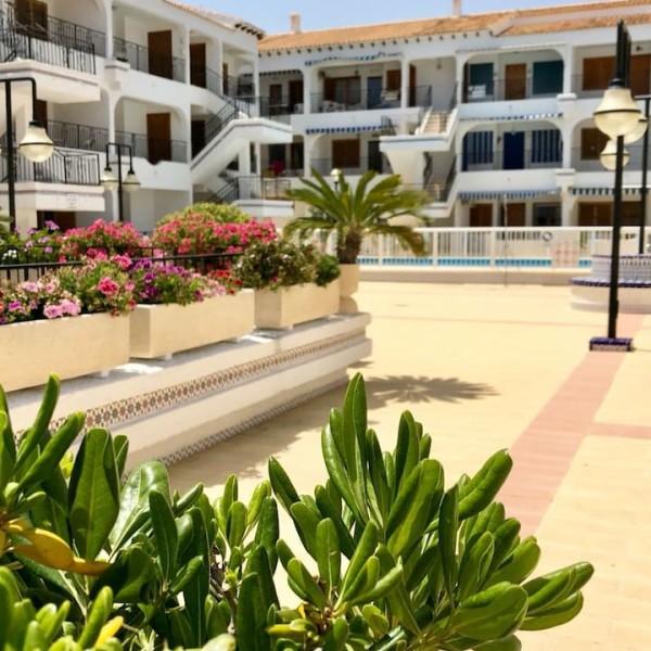 Бунгало с двумя бассейнами возле пляжа Playa de Los Naufragos, Торревьеха