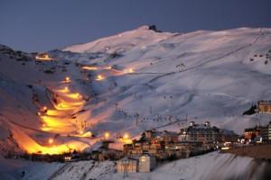 Самый южный горнолыжный курорт в Европе - Сьерра Невада