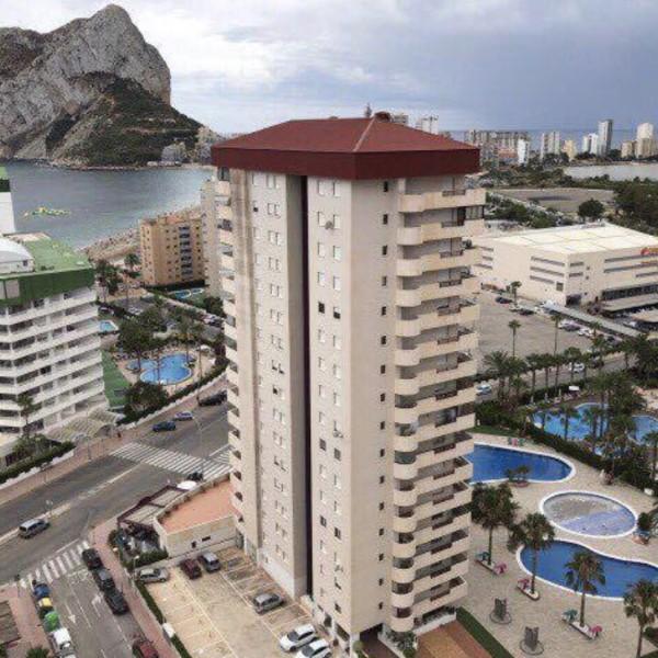 Апартаменты в 300 м от пляжа Ла Форса, Кальпе -9