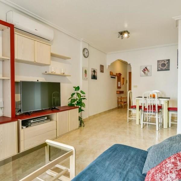 Апартаменты с 2-мя спальнями в 100 м. от пляжа Дель Кура, Торревьеха-11