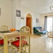 Апартаменты с 2-мя спальнями в 100 м. от пляжа Дель Кура, Торревьеха