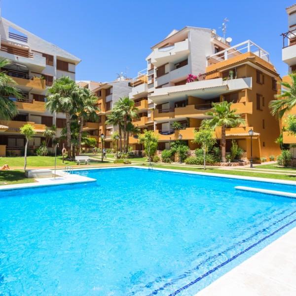 ЭлАпартаменты с 3-мя спальнями в Пунта Прима, Коста Бланка, Испания