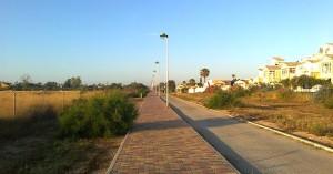 La Vía Verde – пешеходно-велосипедная дорога в Торревьехе.